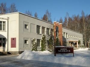 Mažeikių muziejus 1994-2013 m. (iki rekonstrukcijos), adresu V.Burbos g. 9.