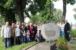 Prie A.Griškevičiaus kapo, minint 150-ąsias mirties metines
